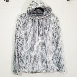 Ohio University Fleece 1/4 zip pullover hoodie
